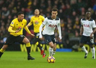 Una exhibición de Kane mete al Tottenham en zona Champions
