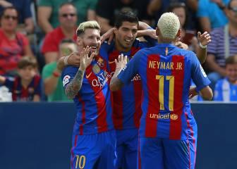 El Barça espera después de 15 días a Neymar, Messi y Suárez