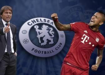 Antonio Conte quiere reforzar su Chelsea con Arturo Vidal