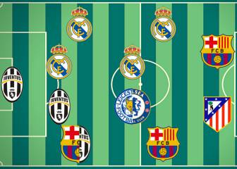 El Real Madrid domina el 11 ideal de L'Équipe en 2016