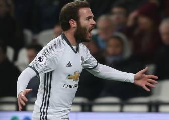 El United de Mourinho sigue en racha y se coloca sexto