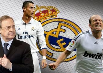 Robben culpa a Florentino y Cristiano de su salida del Madrid