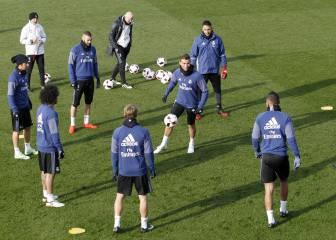 Rotación extrema de Zidane: arriesga sin Cristiano Ronaldo