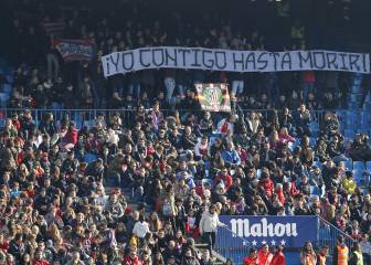 5,000 Atlético fans watch the team put through their paces