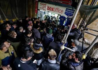 Nápoles-Real Madrid: la reventa ya alcanza los 1.689 euros