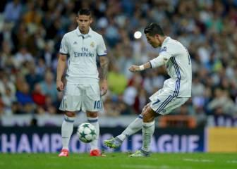 La falta de Cristiano al Sporting opta al gol de la fase de grupos