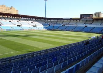 El Zaragoza vs Valencia se jugará en el estadio de La Romareda