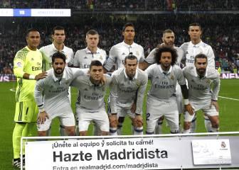 Zidane sólo ha repetido once una vez esta temporada