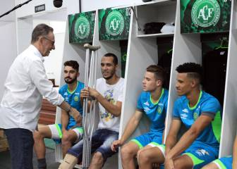 Chapecoense present new squad for next season
