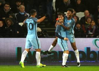 Silva se gusta y guía al City a la siguiente ronda de la FA Cup