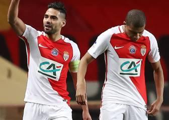Falcao y Germain llevan al Mónaco a dieciseisavos de final