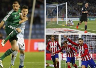 Lesionados y sancionados para la jornada 17 de Liga Santander