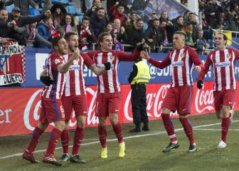 Saúl and Griezmann quench Atlético's thirst at Ipurua