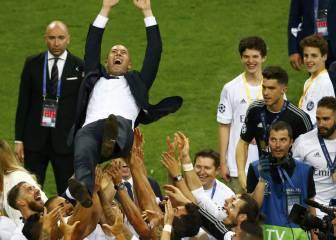 El Madrid de Zidane iguala el récord del Barcelona