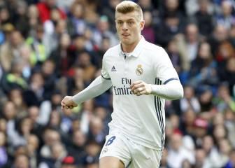 Zidane cambió al apercibido Kroos por James