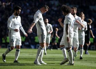 Real Madrid, equipo total: 21 goleadores y 20 asistentes
