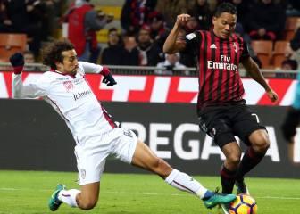 Bacca acaba con su sequía y firma el triunfo del Milán