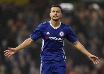 Pedro hace un doblete en la goleada del Chelsea
