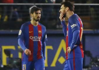 Uno por uno del Barça: un chispazo de Messi evita una crisis