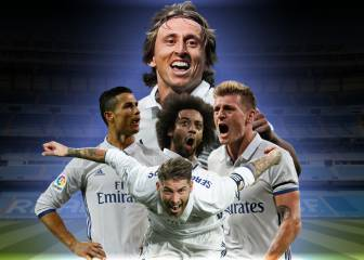 Five Real Madrid players set to feature in FIFA FIFPro World11
