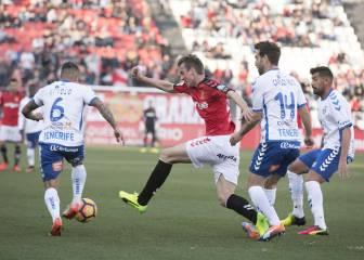 José Carlos rescata un punto ante un Tenerife conformista