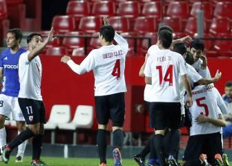 El Oviedo reacciona tarde y cae ante un gran Sevilla Atlético