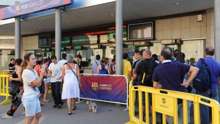 El Barça quiere evitar la reventa en el partido ante el PSG
