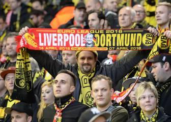 Liverpool y Dortmund ganan el premio a la mejor afición