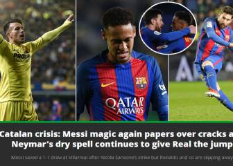 World press reacts to Barça's title-race slip up: