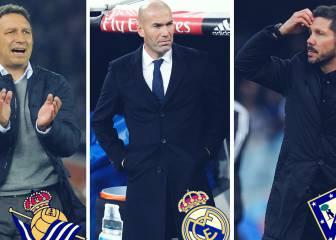 Zidane, Simeone y Eusebio, los técnicos mejor valorados