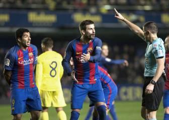 Piqué, al árbitro: