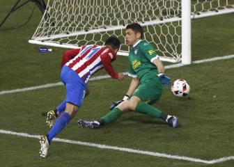 Atlético-Las Palmas en imágenes