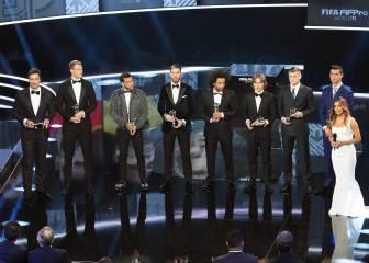 Barcelona boss Luis Enrique backs players over FIFA gala snub