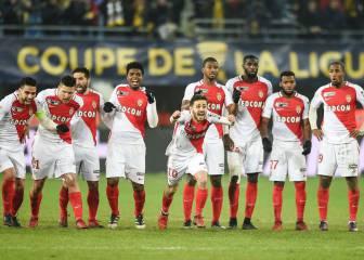 Los penaltis salvan al Mónaco en cuartos ante el Sochaux
