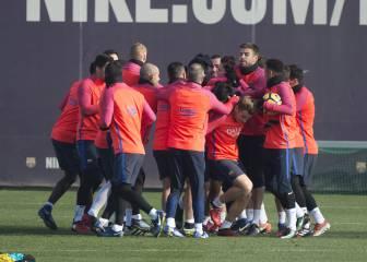 Luis Enrique prepara con intensidad el choque de Copa