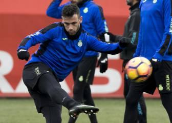 Quique prueba con Álvaro para reemplazar a Piatti en Mestalla