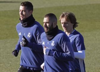 Sigue la rotación extrema: Cristiano y Modric no viajan