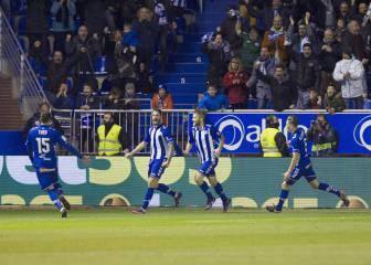 Un gol de Edgar bastó para sellar el pase en Mendizorroza