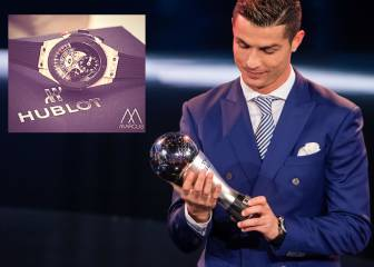 Theft deprives FIFA winners of watches valued at 92.000€