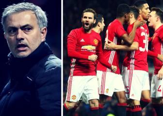 Mourinho critica a su equipo por celebrar el gol de Mata