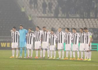 El Partizan de Belgrado, sancionado sin jugar en Europa