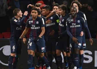 Di María y Thiago Silva liquidan al Metz en la Copa de la Liga