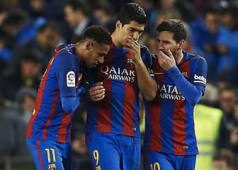 Neymar acaba con su sequía y el tridente supera los 300 goles