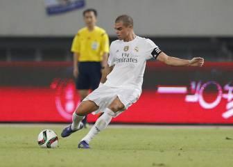El Madrid ya da por hecho que Pepe se marchará a China