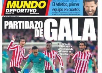 La prensa catalana: \