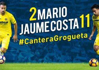 El Villarreal renueva a Mario Gaspar y Jaume Costa