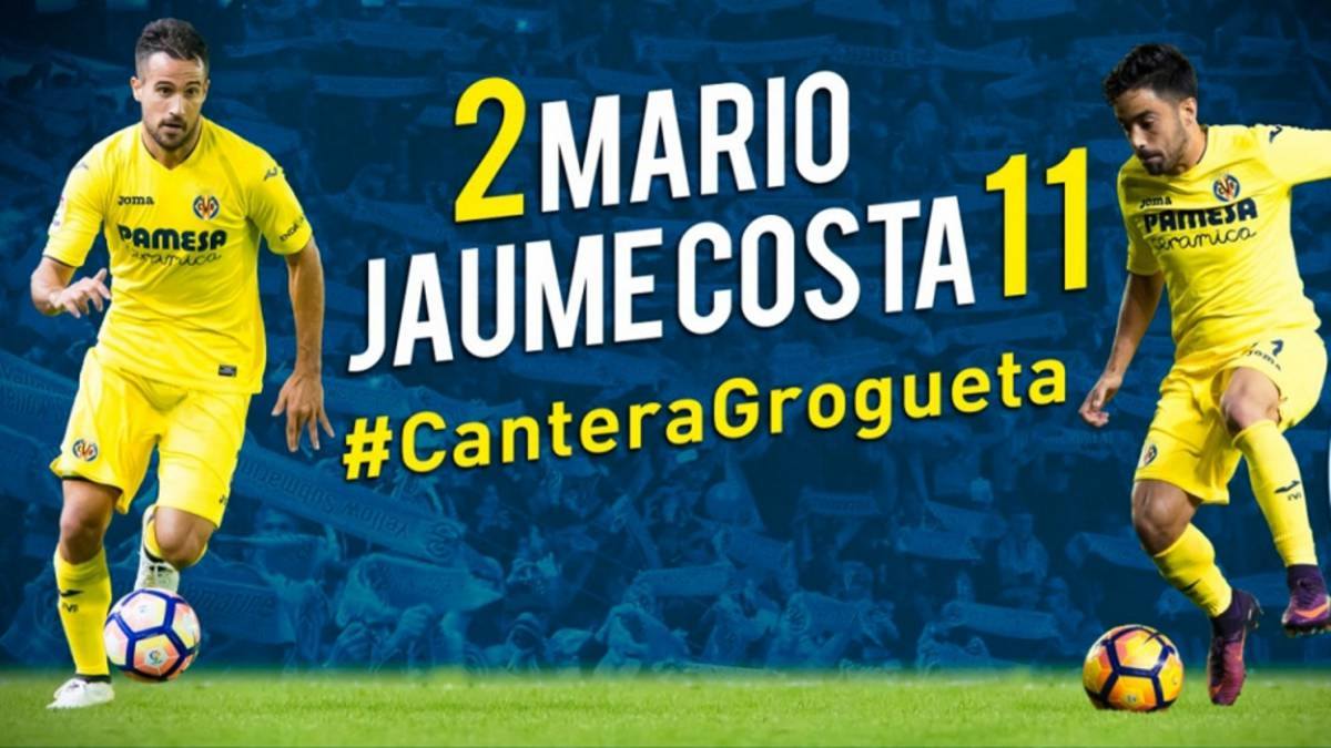 Villarreal hand new deals to Mario Gaspar and Jaume Costa