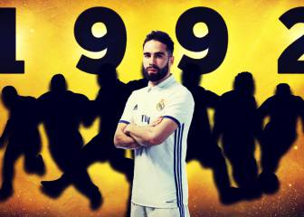 As Carvajal turns 25, we create a team from the class of '92
