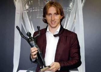 Modric, elegido mejor futbolista croata por delante de Rakitic