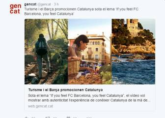 La Generalitat se identifica con el Barça y el Espanyol replica